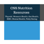 CNS Nutrition Resources