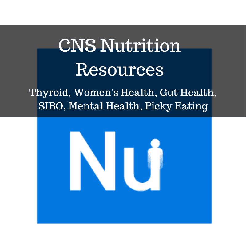 CNS Nutrition Resources