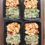 Italian Quinoa Marinara with Sausage & White Beans Frozen Meal Prep