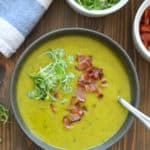 Kabocha Squash Soup with Bacon | Frugal Nutrition