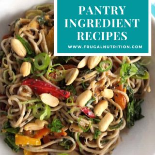 10 Real Food Pantry Ingredient Recipes by Frugal Nutrition