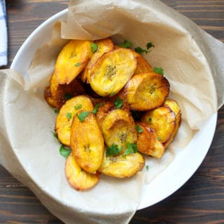 Crispy Fried Green Plantains | Frugal Nutrition