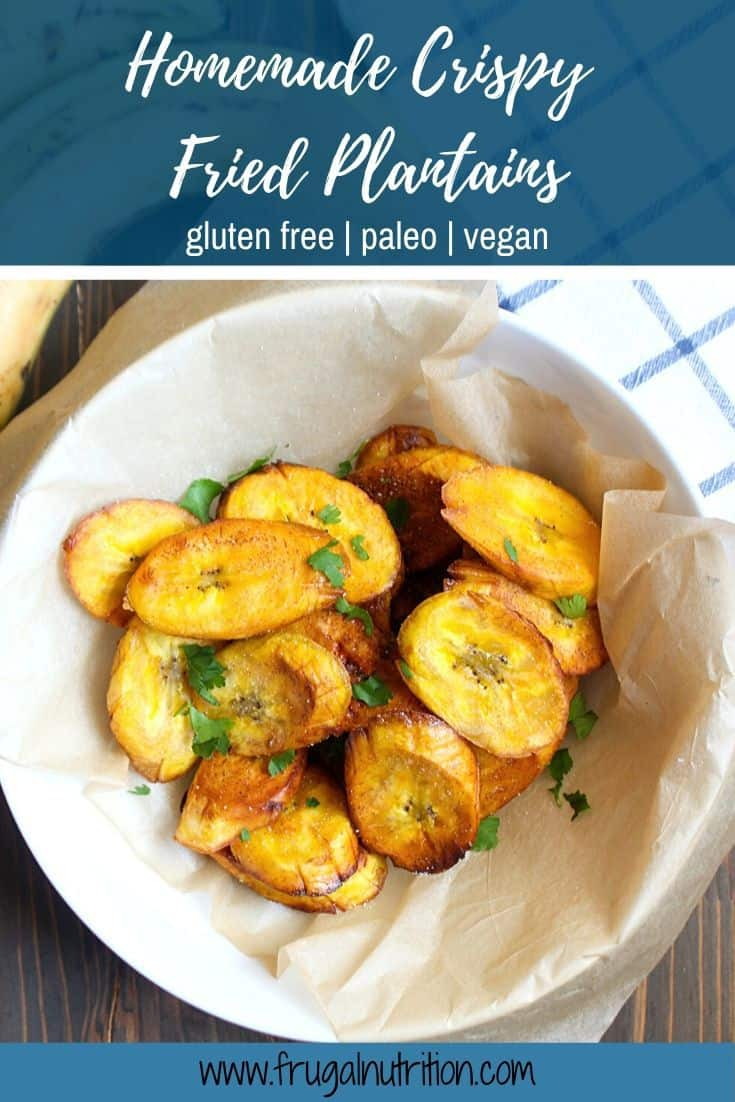 Homemade Crispy Fried Plantains