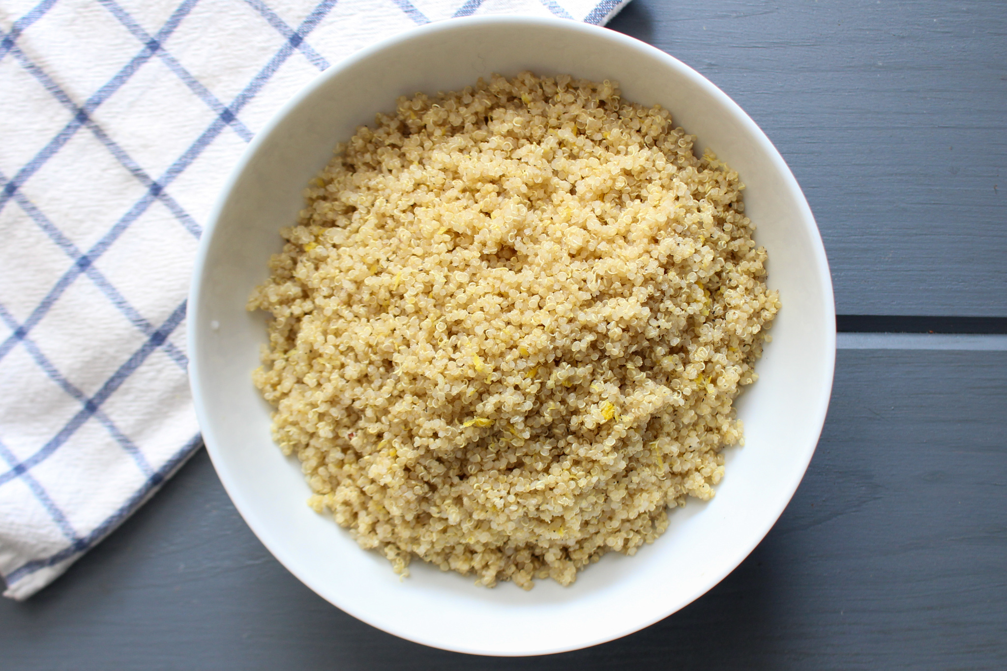 Lemon Quinoa Side Salad